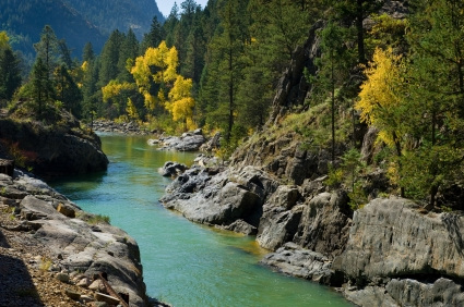 Family adventure vacations - fly fishing Animas River, Durango.