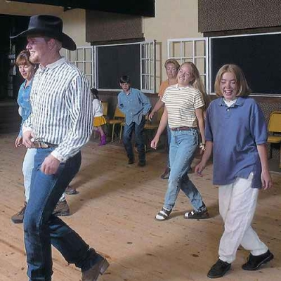 Discovering the world of western dancing is a highlight for guests on our Colorado dude ranch in Durango.