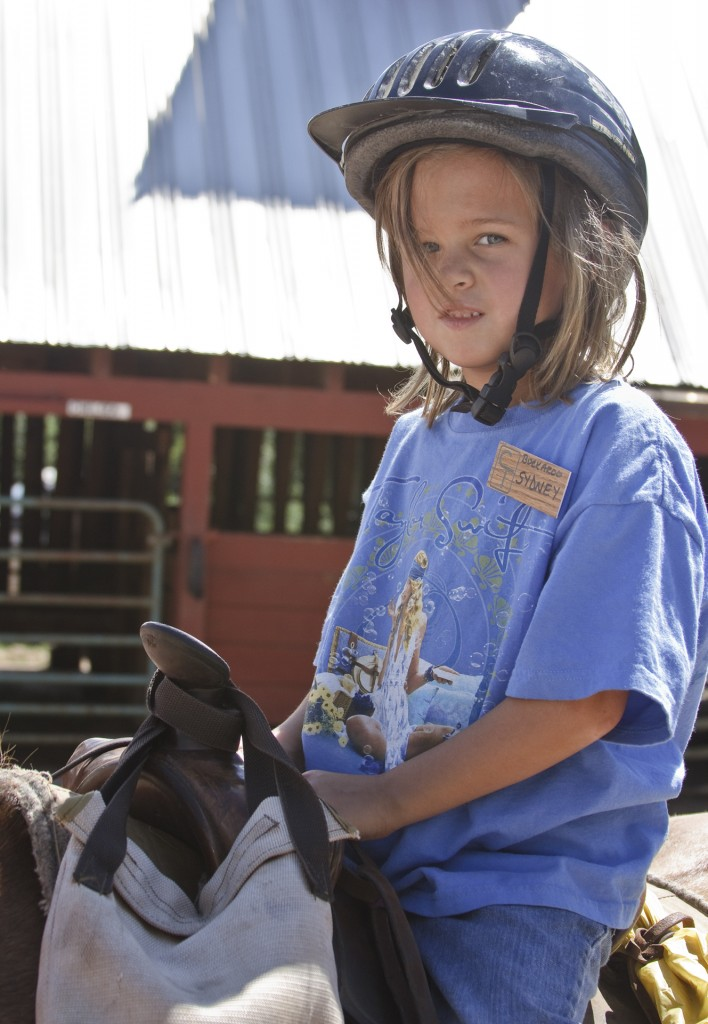 Our guest ranch has tons of activities for children