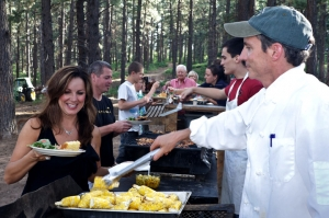 hearty meals dude ranch